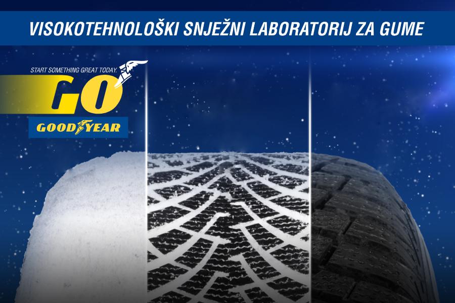 GOODYEAR: Proučavanjem snijega do veće izdržljivosti guma