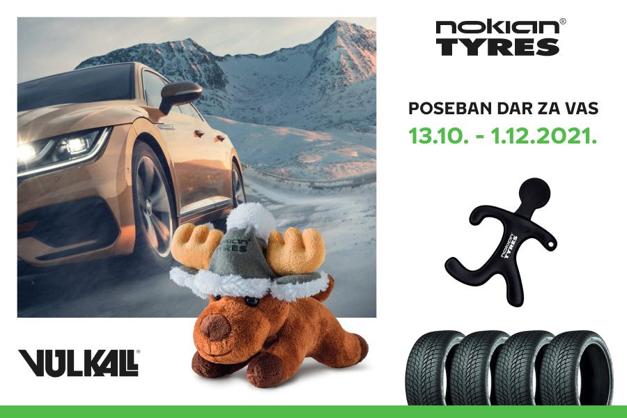 ZIMSKI I FINSKI: Uz komplet vrhunskih Nokian guma, udomite i malog soba!