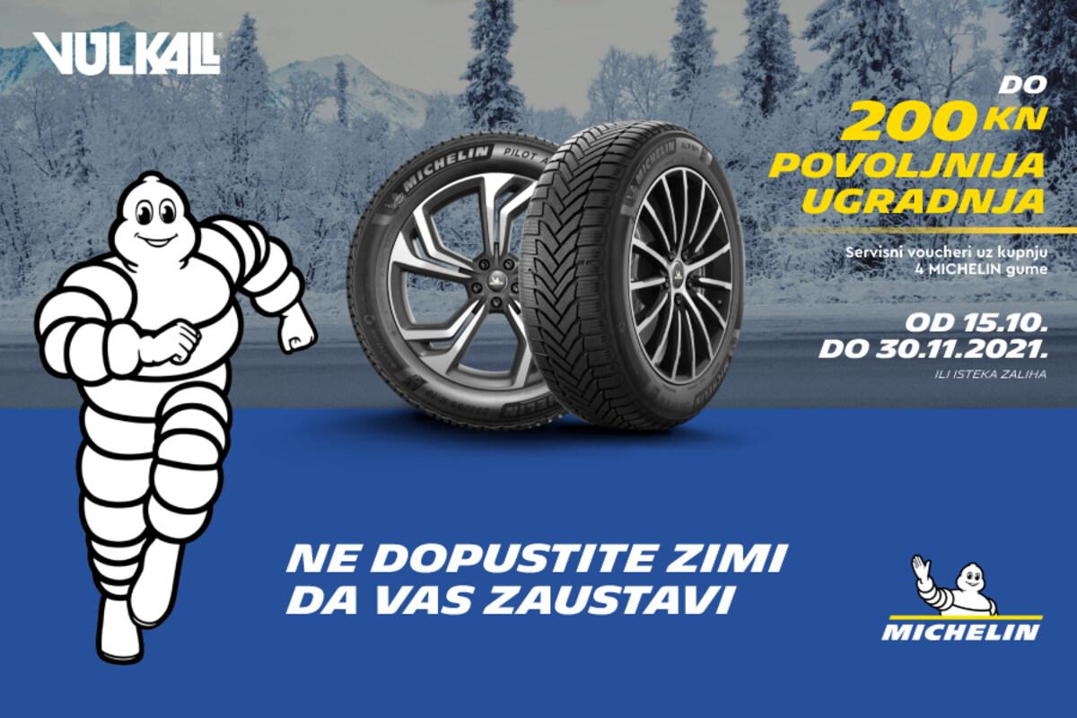 SIGURNOST SE ISPLATI: Najbolje Michelin gume uz najpovoljniju montažu!